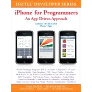 IPhone for Programmers : An App-Driven Approach, 9780137058426  