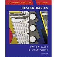 Design Basics, Multimedia Edition (with ArtExperience CD-ROM),9780495128458