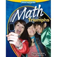 Math Triumphs--Foundations for Algebra 1