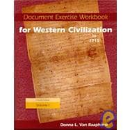 Document Exercise Workbook for Western Civilization, Volume I