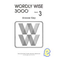 Wordly Wise 3000 Book 3, 9780838828472