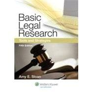 Basic Legal Research : Tools and Strategies,9781454808473