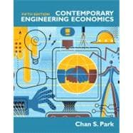 Contemporary Engineering Economics,9780136118480