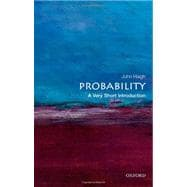 Probability; A Very Short Introduction ,9780199588480