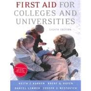 First Aid for Colleges and Universities,9780805328486