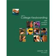 College Keyboarding & Document Processing Lessons 1-20