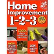 Home Improvement 1-2-3 (Home Depot 1-2-3),9780696238505