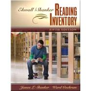 Ekwall/Shanker Reading Inventory,9780205388530