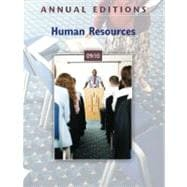 Annual Editions : Human Resources 09/10