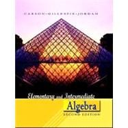 Elementary and Intermediate Algebra,9780321368546