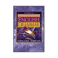 Understanding English Grammar,9780205268559