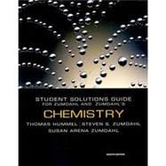 Chemistry-Student Solutions Manual