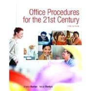 Office Procedures for the 21st Century & Student Workbook Package,9780132308571