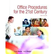 Office Procedures for the 21st Century & Student Workbook Package