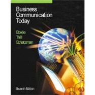 Business Communication Today,9780130928580
