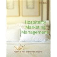 Hospitality Marketing Management, 5th Edition,9780470088586