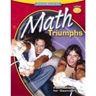 Math Triumphs--Foundations for Geometry