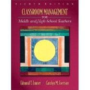 Classroom Management for Middle and High School Teachers,9780205578603