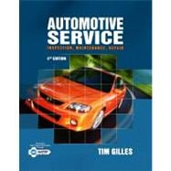 Automotive Service : Inspection, Maintenance, Repair,9781111128616