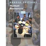 Annual Editions : Human Resources 03/04