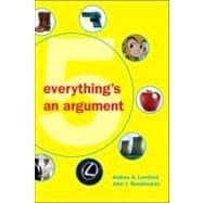 Everything's an Argument, 9780312538620  