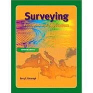 Surveying: Principles And Applications,9780131188624