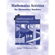 Mathematical Reasoning For Elem Teachers,9780321528629