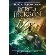Percy Jackson & the Olympians: The Lightning Thief - Book On..., 9780786838653
