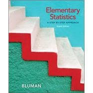 Student Solutions Manual for Elementary Statistics : A Step by Step Approach,9780077438654