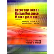 International Human Resource Management Managing People in a Multinational Context