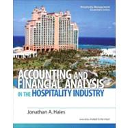 Accounting and Financial Analysis in the Hospitality Industry,9780132458665