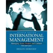 International Management : Managing Across Borders and Cultures, Text and Cases,9780136098676