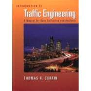 Introduction to Traffic Engineering A Manual for Data Collection and Analysis