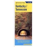 Kentucky/Tennessee State Map