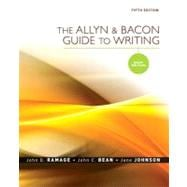 Allyn & Bacon Guide to Writing, The: Brief Edition,9780205598731
