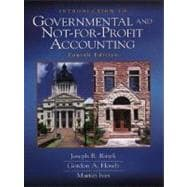 Introduction to Governmental and Not-For-Profit Accounting,9780139178733