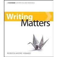 Writing Matters: class test version