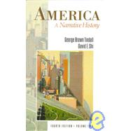 America Vol. 2 : A Narrative History,9780393968750