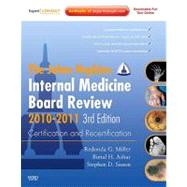 The Johns Hopkins Internal Medicine Board Review 2010-2011: ..., 9780323068758  