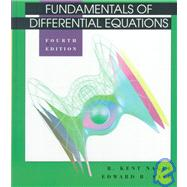 Fundamentals of Differential Equations,9780201808759