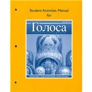 Student Actvties Mnl Golosa: A Basic Course In Russian, Book One