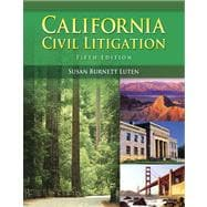 California Civil Litigation (with Study Guide)