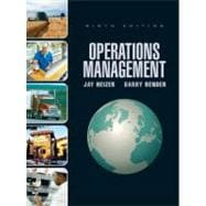 Operations Management & Student CD & DVD