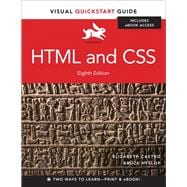 HTML and CSS Visual QuickStart Guide