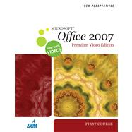 New Perspectives on Microsoft Office 2007, First Course, Premium Video Edition,9780324788846