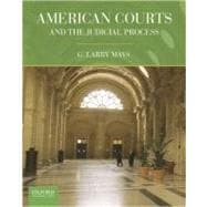 American Courts and the Judicial Process,9780199738854