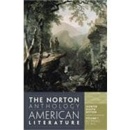 Norton Anthology of American Literature,9780393918861