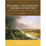 Reading and Writing American History Volume 1,9781256358862