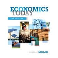 Economics Today The Macro View,9780132948890