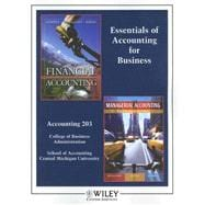 Essentials of Accounting for Business : Accounting 203 Colle..., 9780470138892